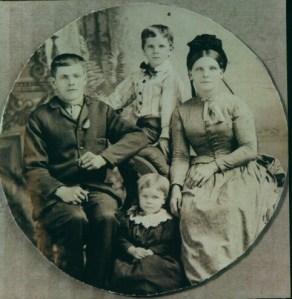 John and Elizabeth Dowding (nee Stone) with Richard and Mary