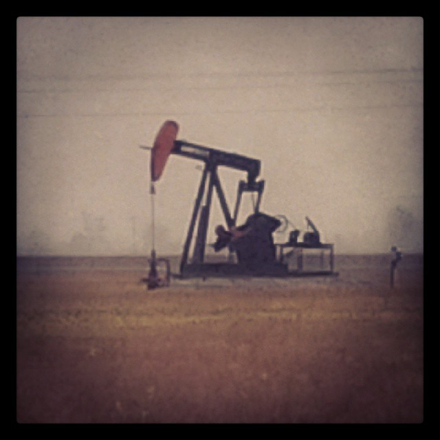 Oil Drill, Petrolia, ON 2014