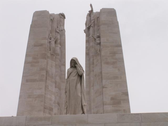 Vimy Canadian Memorial, Pas-de-Calais, France