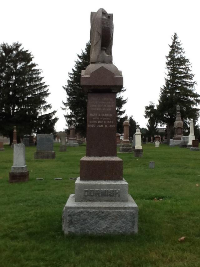 Original Cornish Headstone in Dorchester Union Cemetery