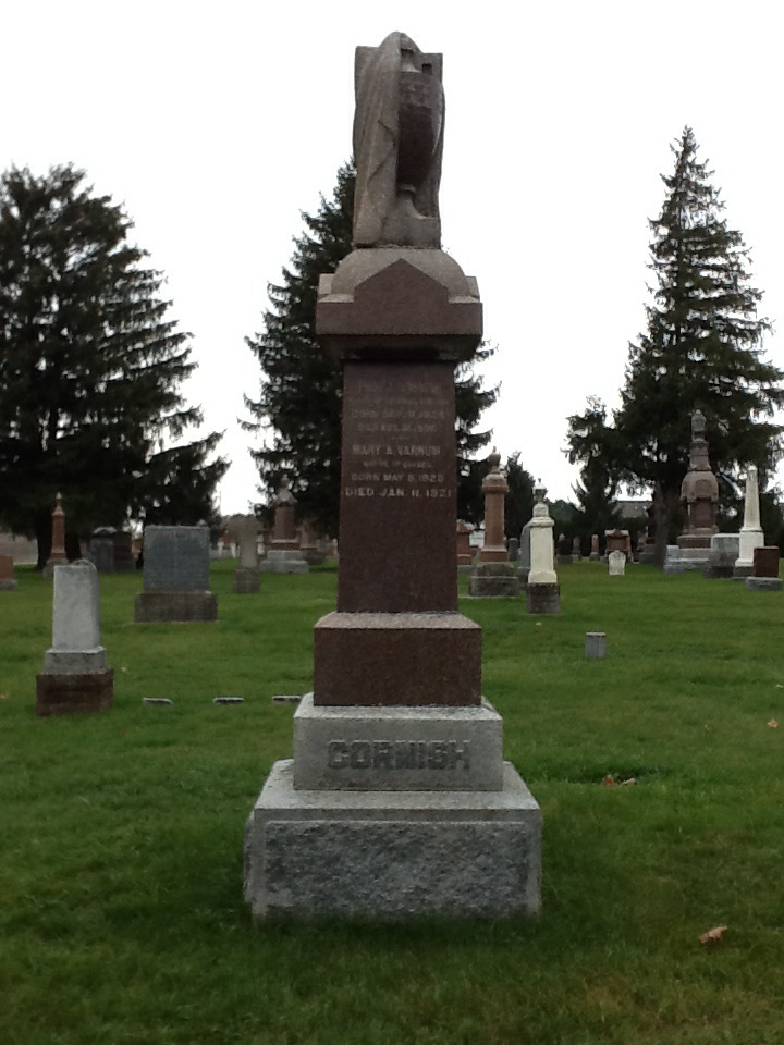 Original Cornish Headstone in Dorchester Union Cemetery