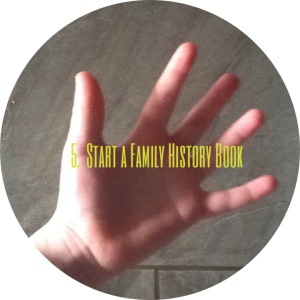 Start a Family History Book