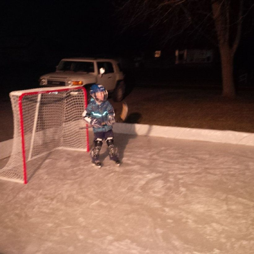Hockey on the Outdoor Rink