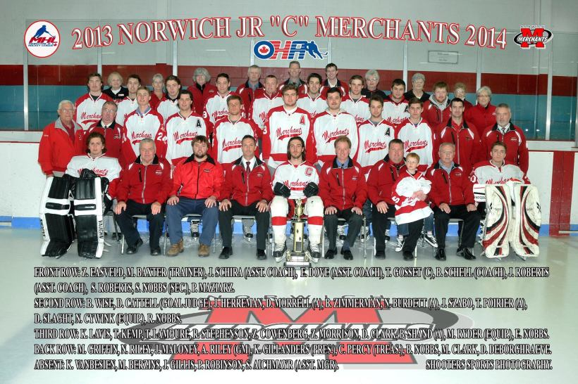 2013-2014 Norwich Merchants