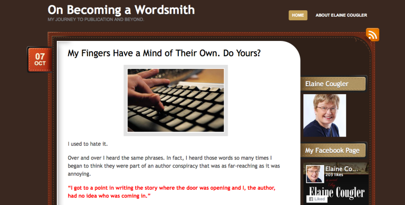 On Becoming a Wordsmith