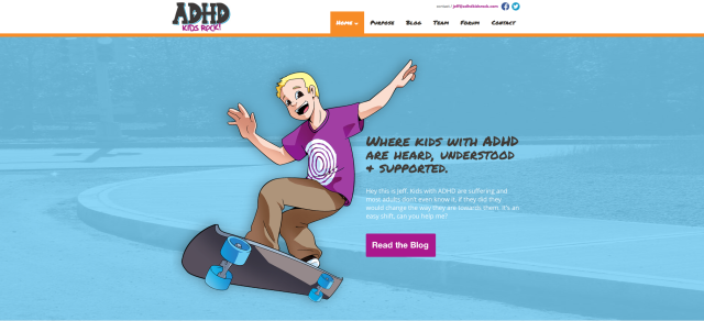 ADHD Kids Rock, Jeff Rasmussen