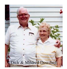 Richard Dowding, Mildred Dowding